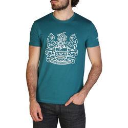 Abbigliamento Uomo T-shirt maniche corte Aquascutum - qmt002m0 Verde