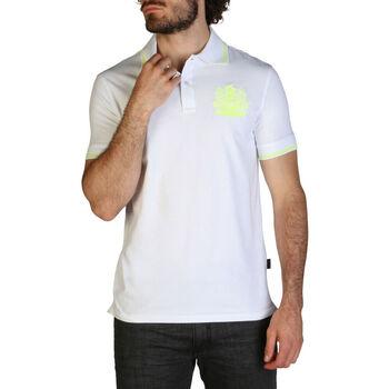 Abbigliamento Uomo Polo maniche corte Aquascutum - qmp025 Bianco