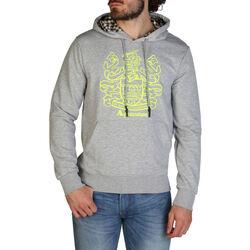 Abbigliamento Uomo Felpe Aquascutum - qmf016l0 Grigio