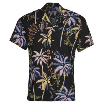 Abbigliamento Uomo Camicie maniche corte Jack & Jones JORTROPICANA Multicolore