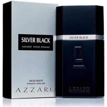 Bellezza Uomo Eau de parfum Azzaro Silver Black - colonia - 100ml - vaporizzatore Silver Black - cologne - 100ml - spray