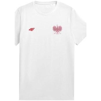 Abbigliamento Uomo T-shirt maniche corte 4F TSM950 Bianco