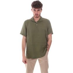 Abbigliamento Uomo Camicie maniche corte Sseinse CE660SS Verde