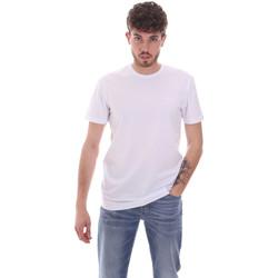 Abbigliamento Uomo T-shirt maniche corte Antony Morato MMKS01855 FA120022 Bianco