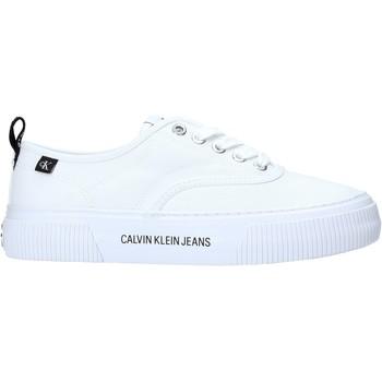 Scarpe Donna Sneakers basse Calvin Klein Jeans YW0YW00054 Bianco