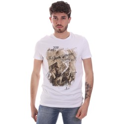 Abbigliamento Uomo T-shirt maniche corte Gaudi 111GU64091 Bianco