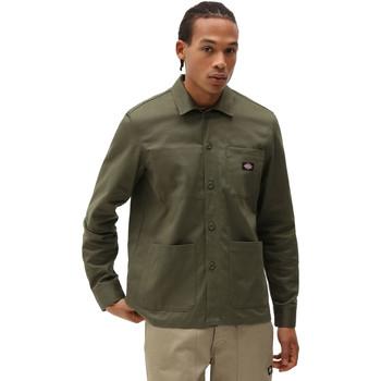 Abbigliamento Uomo Camicie maniche lunghe Dickies DK0A4XEIMGR1 Verde