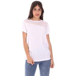 Abbigliamento Donna T-shirt maniche corte Ea7 Emporio Armani 3KTT34 TJ4PZ Bianco