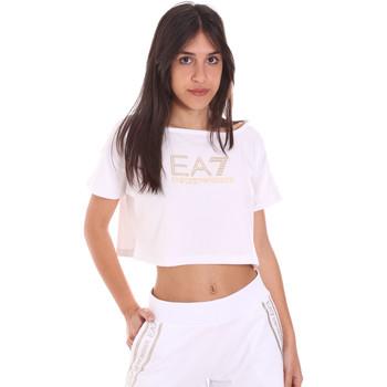 Abbigliamento Donna T-shirt maniche corte Ea7 Emporio Armani 3KTT03 TJ28Z Bianco