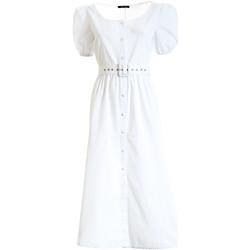 Abbigliamento Donna Abiti lunghi Fracomina F321SD3005W40301 Bianco