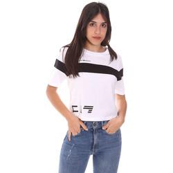 Abbigliamento Donna T-shirt maniche corte Ea7 Emporio Armani 3KTT05 TJ9ZZ Bianco