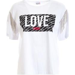 Abbigliamento Donna T-shirt maniche corte Fracomina FT21ST3003J400N5 Bianco