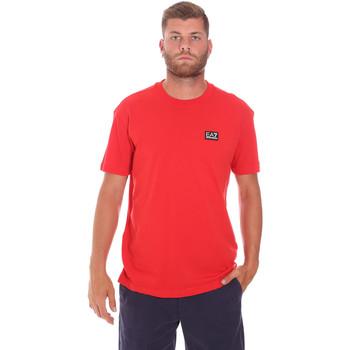 Abbigliamento Uomo T-shirt maniche corte Ea7 Emporio Armani 3KPT63 PJ6EZ Rosso