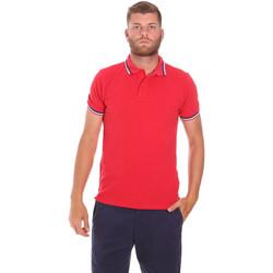 Abbigliamento Uomo Polo maniche corte Sundek M779PLJ6500 Rosso