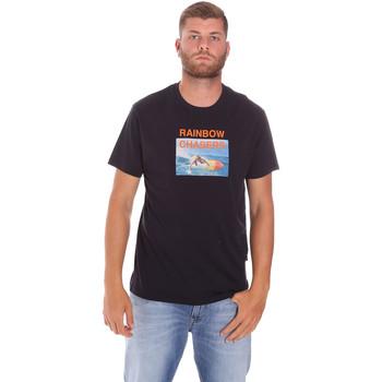 Abbigliamento Uomo T-shirt maniche corte Sundek M047TEJ7800 Nero