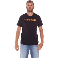 Abbigliamento Uomo T-shirt maniche corte Sundek M049TEJ7800 Nero