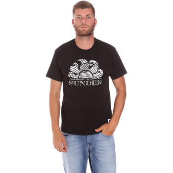 Abbigliamento Uomo T-shirt maniche corte Sundek M027TEJ78ZT Nero