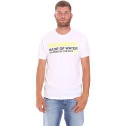 Abbigliamento Uomo T-shirt maniche corte Sundek M058TEJ7800 Bianco