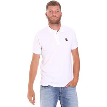Abbigliamento Uomo Polo maniche corte Refrigiwear RM0T25900PQ9002 Bianco