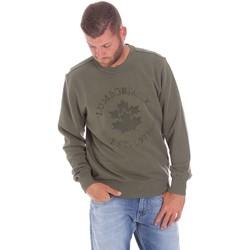 Abbigliamento Uomo Felpe Lumberjack CM60142 016EU Verde