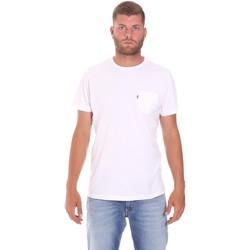 Abbigliamento Uomo T-shirt maniche corte Lumberjack CM60343 022EU Bianco