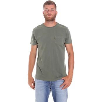 Abbigliamento Uomo T-shirt maniche corte Lumberjack CM60343 022EU Verde