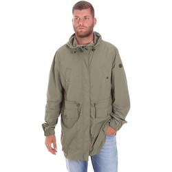 Abbigliamento Uomo Parka Lumberjack CWB3321 001EU Verde