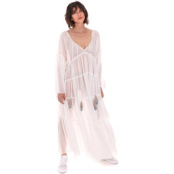 Abbigliamento Donna Abiti lunghi F * * K  Bianco