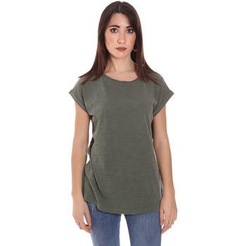 Abbigliamento Uomo T-shirt maniche corte Lumberjack CW60343 011EU Verde