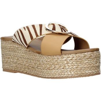 Scarpe Donna Ciabatte Gold&gold A21 GK98 Beige