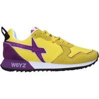 Scarpe Uomo Sneakers basse W6yz 2014032 03 Giallo