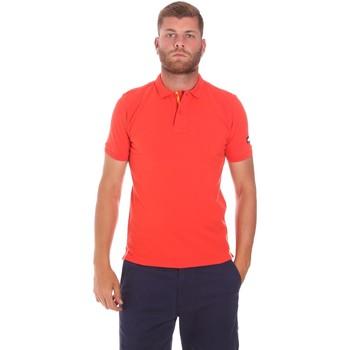 Abbigliamento Uomo Polo maniche corte Sundek M791PLJ6500 Rosso
