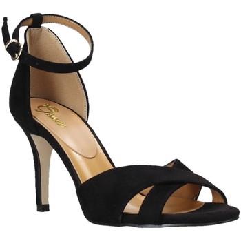 Scarpe Donna Sandali Grace Shoes 934004 Nero