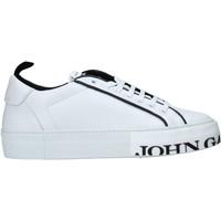 Scarpe Uomo Sneakers basse John Galliano 11012/CP C Bianco