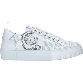 Scarpe Uomo Sneakers basse John Galliano 11018/CP A Bianco
