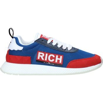 Scarpe Uomo Sneakers John Richmond 1324 E Blu