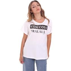 Abbigliamento Donna T-shirt maniche corte Fracomina FR21ST3025J40010 Bianco
