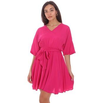 Abbigliamento Donna Abiti corti Fracomina FR21SD1024W42801 Rosa