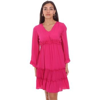 Abbigliamento Donna Abiti corti Fracomina FR21SD1047W41801 Rosa