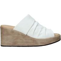 Scarpe Donna Ciabatte Sshady L2501 Bianco