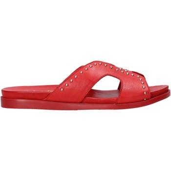 Scarpe Donna Ciabatte Sshady MRT233 Rosso