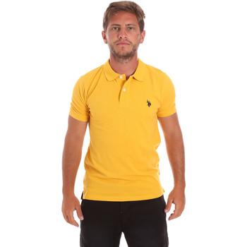 Abbigliamento Uomo Polo maniche corte U.S Polo Assn. 51007 49785 Giallo