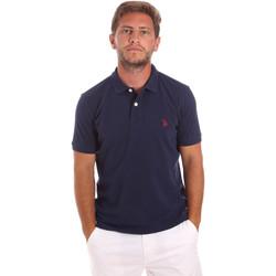Abbigliamento Uomo Polo maniche corte U.S Polo Assn. 51007 49785 Blu