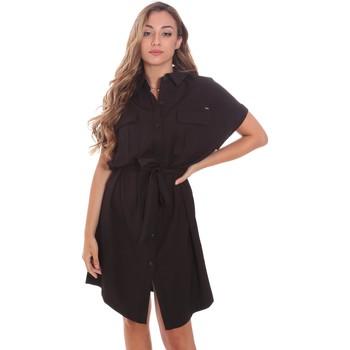 Abbigliamento Donna Abiti corti Gaudi 111FD15011 Nero