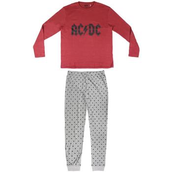 Abbigliamento Uomo Pigiami / camicie da notte Ac/dc 2200004849 Rojo