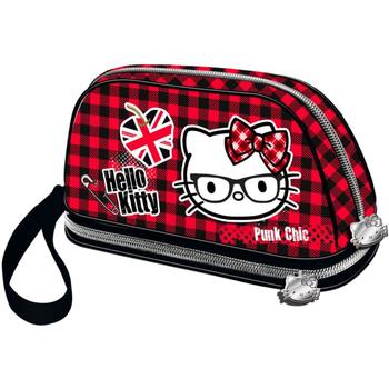 Borse Donna Trousse Hello Kitty 41631 Rojo