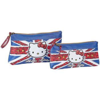 Borse Donna Trousse Hello Kitty 45431 Azul