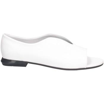 Scarpe Donna Sandali Hersuade 4001 Sandalo Donna BIANCO/NERO BIANCO/NERO