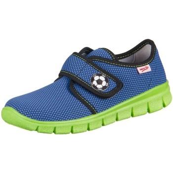 Scarpe Unisex bambino Sneakers basse Superfit Bobby Water Kombi Textil Azzuro