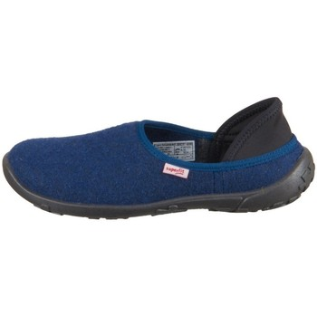 Scarpe Unisex bambino Pantofole Superfit Lucky Blu marino